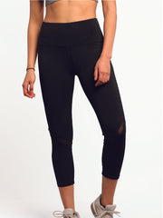 Breeze High Waist Capri 22""