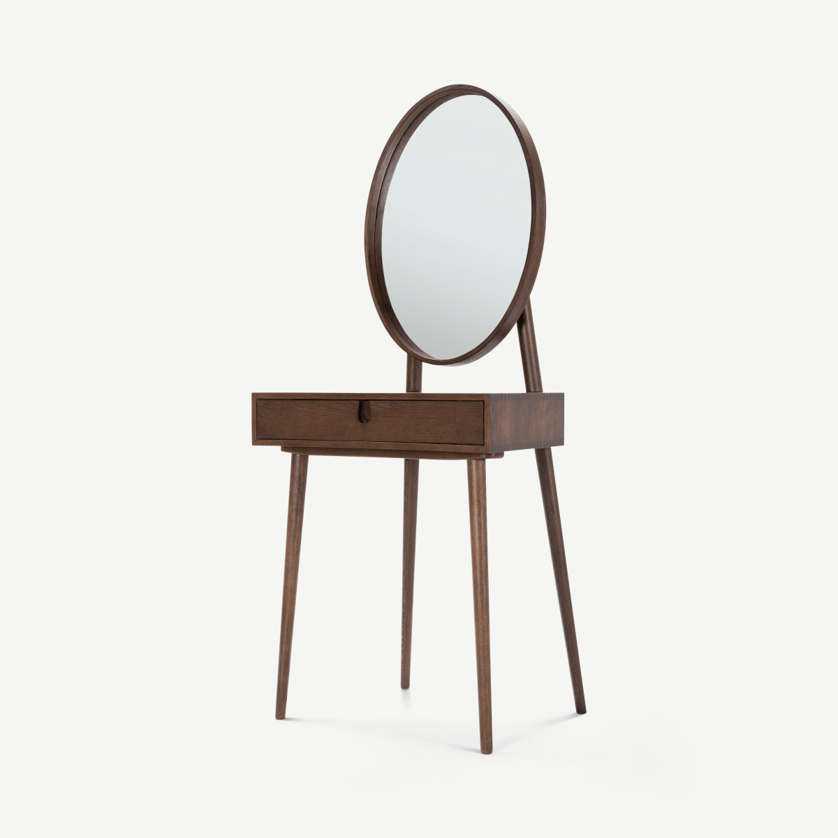 Penn Dressing Table, Dark Stain Ash
