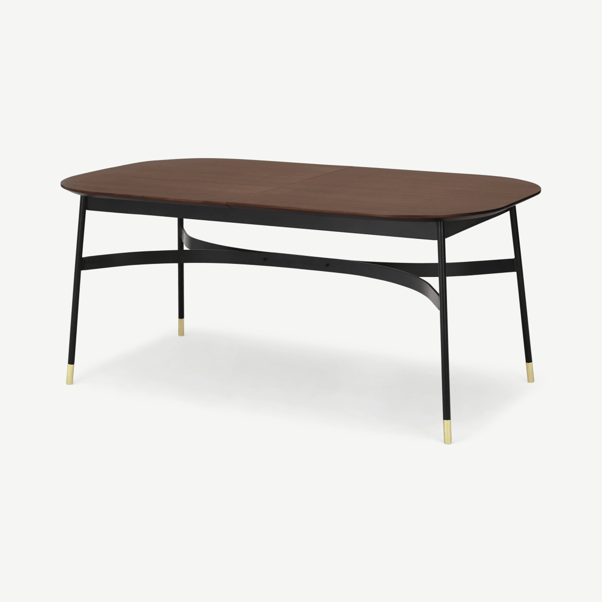 Amalyn Double Extending Table, Walnut