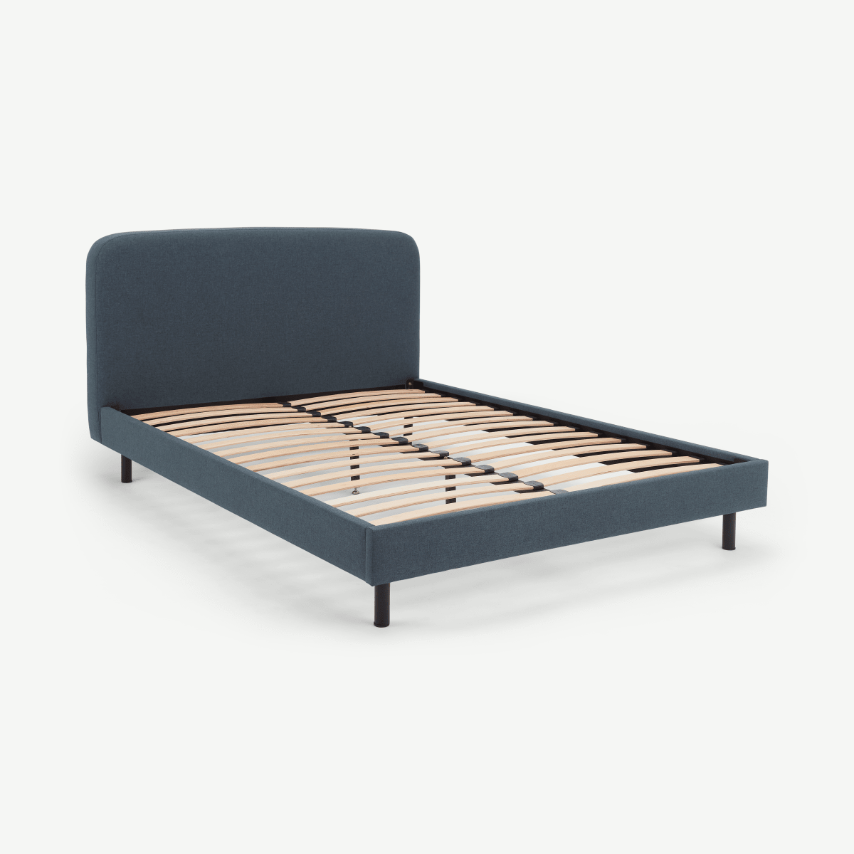 Besley Double Bed, Aegean blue