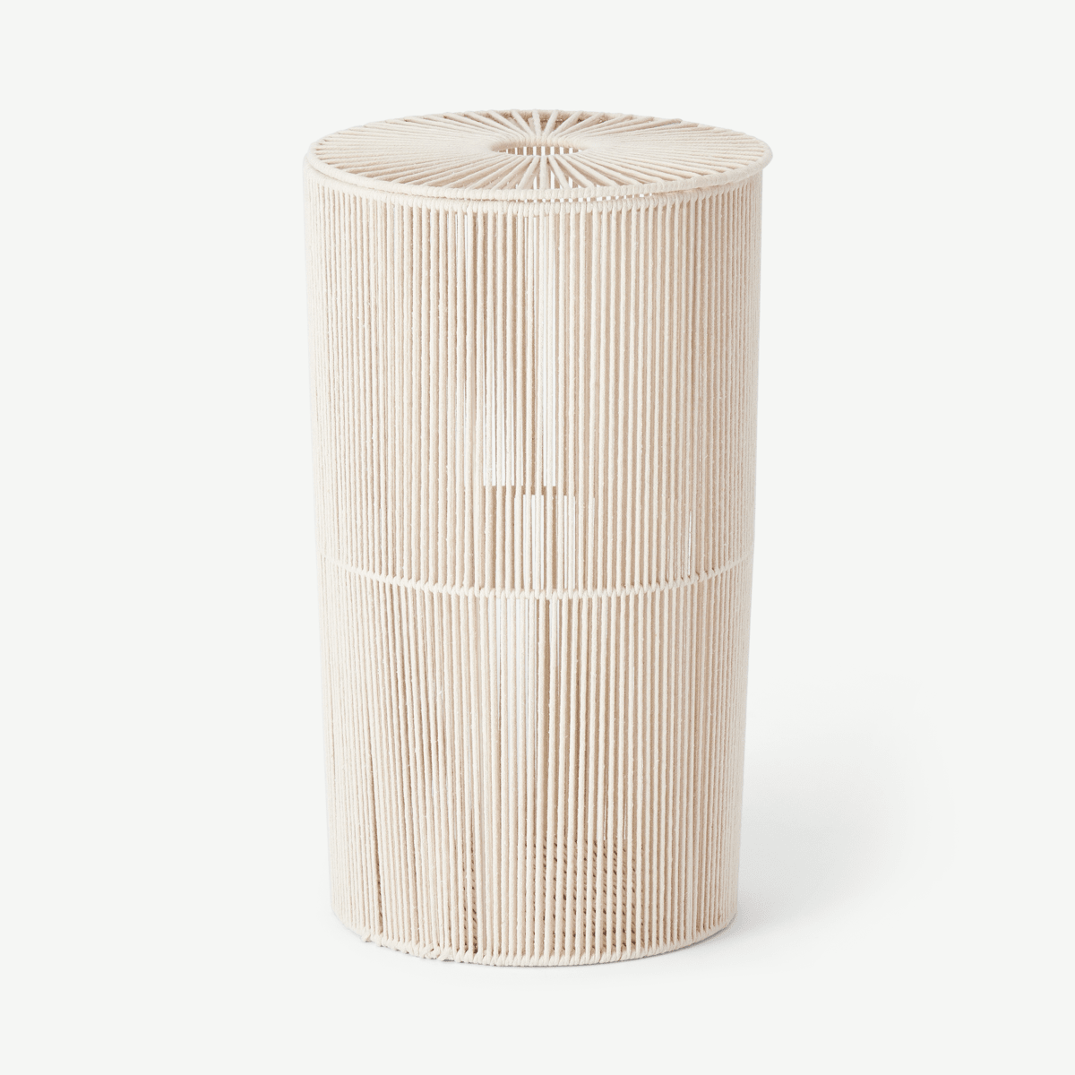 Holgate Rope Laundry Basket, Off White