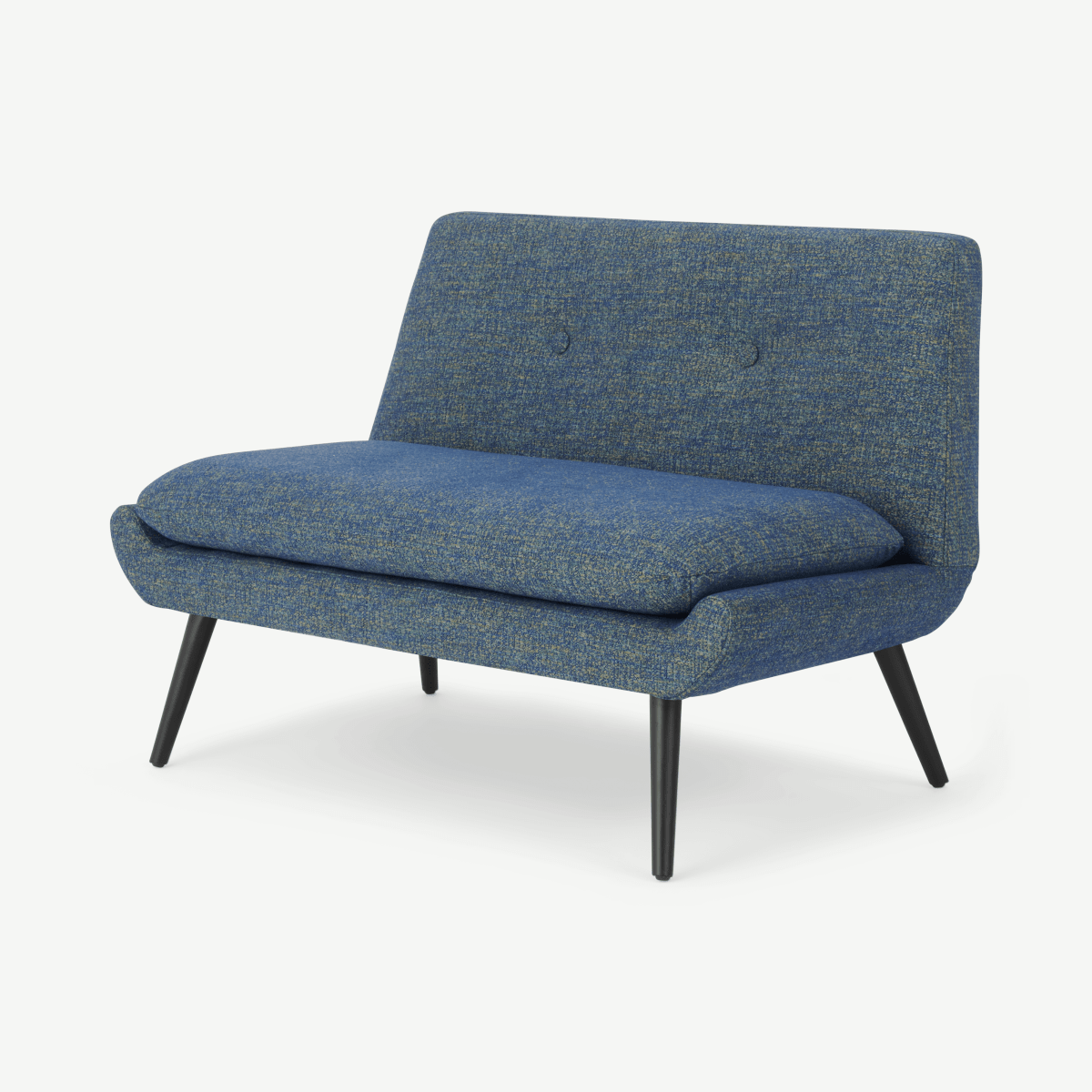 Jonny 2 Seater Sofa, Revival Blue