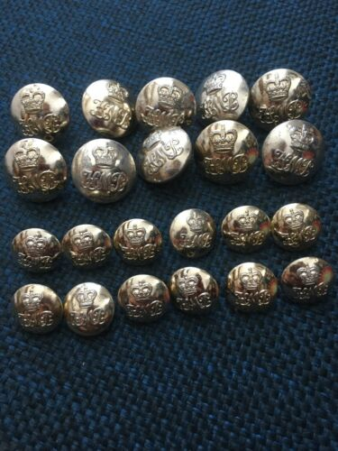 H . M . Prisons 'HMP' uniform buttons