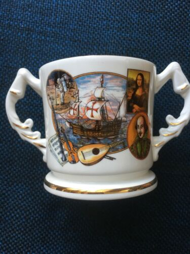 Aynsley Millennium Jug Cup The Endeavours Of Mankind