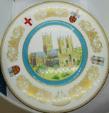 Lincoln Cathedral 900th Plate. Aynsley limited edition Fine Bone China