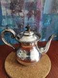 Ornate Victorian teapot - silver plated