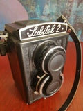 GOMZ/LOMO Lubitel 2 6X6 TLR Fully Working Camera - Super Condition cw lens cap