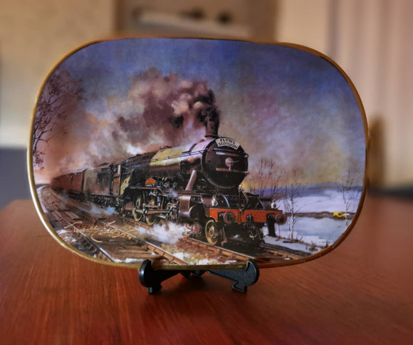 Davenport Last of the Giants Terence Cuneo Train Plate Flying Scotsman