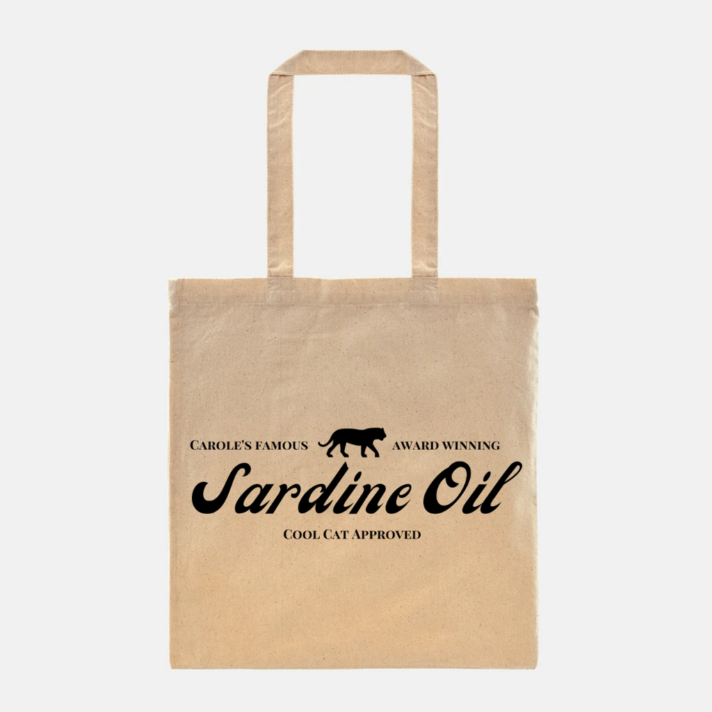Lightweight Sardine Oil Tote