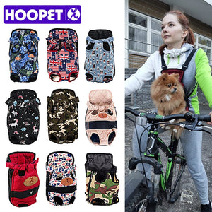 Backpack carrier for dogs