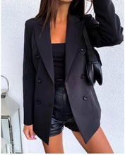 Load image into Gallery viewer, Solid Long Sleeve 1 layer Blazer Coat S-3XL