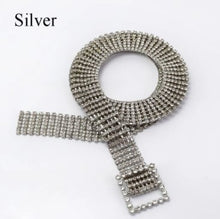Load image into Gallery viewer, Flash Rock Decoration Rhinestone Fashion Woman Alloy Belt