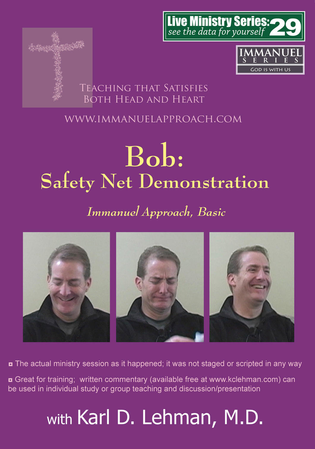 Bob: Safety Net Demonstration (LMS #29)