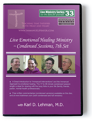 Live Emotional Healing Ministry - Condensed Sessions, 7th Set (LMS #33)