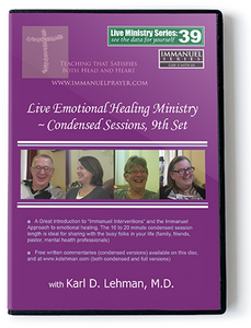 Live Emotional Healing Ministry - Condensed Sessions, 9th Set (LMS #39)