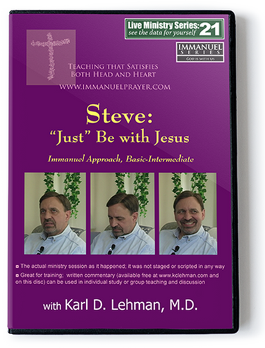 Steve: Just Be With Jesus (LMS #21)
