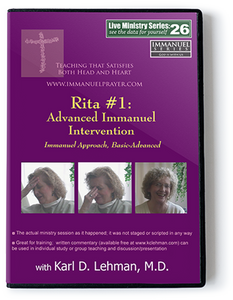 Rita #1: Advanced Immanuel Intervention (LMS #26)