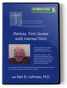 Patricia: First Session with Internal Parts (LMS #3)