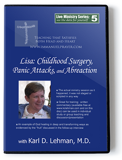 Lisa: Childhood Surgery, Panic Attacks, & Abreaction (LMS #5)