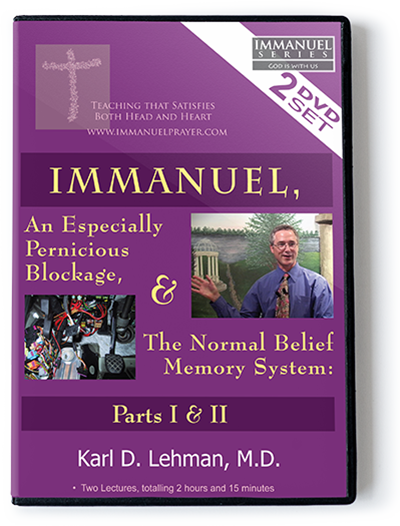 Immanuel, an Especially Pernicious Blockage, & the Normal Belief Memory System