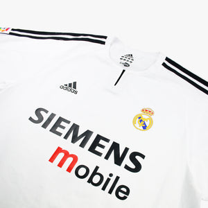 Real Madrid 03/04 • Home Shirt • L