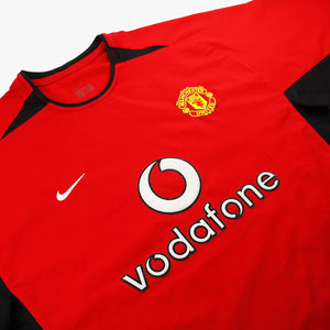 Manchester United 02/03 • Camiseta Local • L • Beckham #7
