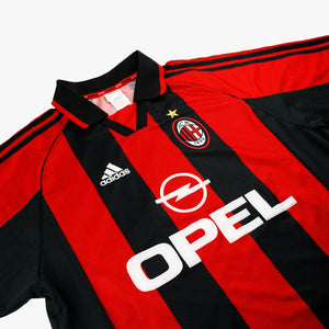 AC Milan 98/00 • Home Shirt • L