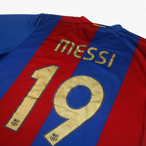 Barcelona 06/07 • Home Shirt • L • Messi #19