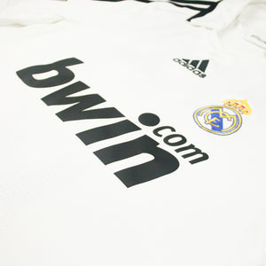 Real Madrid 08/09 • Camiseta Local • S • Van Nistelrooy #17
