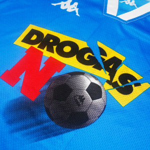 'Drogas No' 97 • **Match Issue** Camiseta (Partido Amistoso Contra Las Drogas) • XL • #12