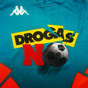 'Drogas No' 97 • **Match Issue** Camiseta (Partido Amistoso Contra Las Drogas) • XL • #6