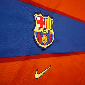 Barcelona 98/99 • **Player Issue** Camiseta Visitante • XXL