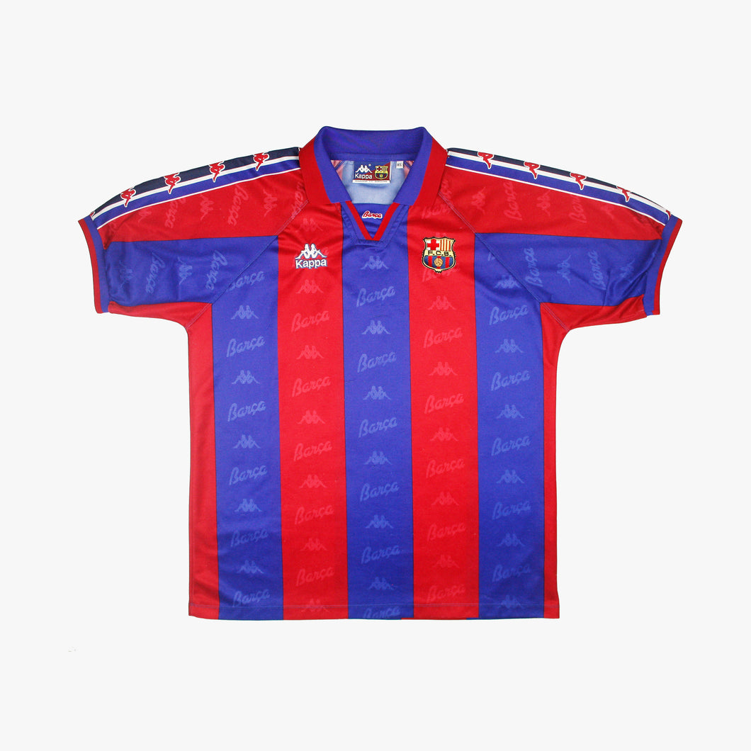 Barcelona 95/97 • Camiseta Local • XL