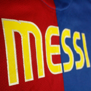 Barcelona 08/09 • Camiseta Local • XXL • Messi #10