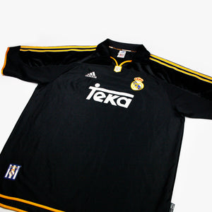 Real Madrid 99/01 • Camiseta Visitante • XL