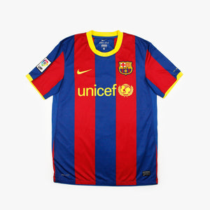 Barcelona 10/11 • Camiseta Local • M • Piqué #3