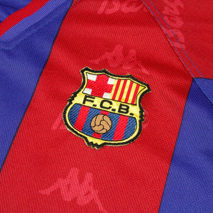Barcelona 95/97 • Home Shirt • XL