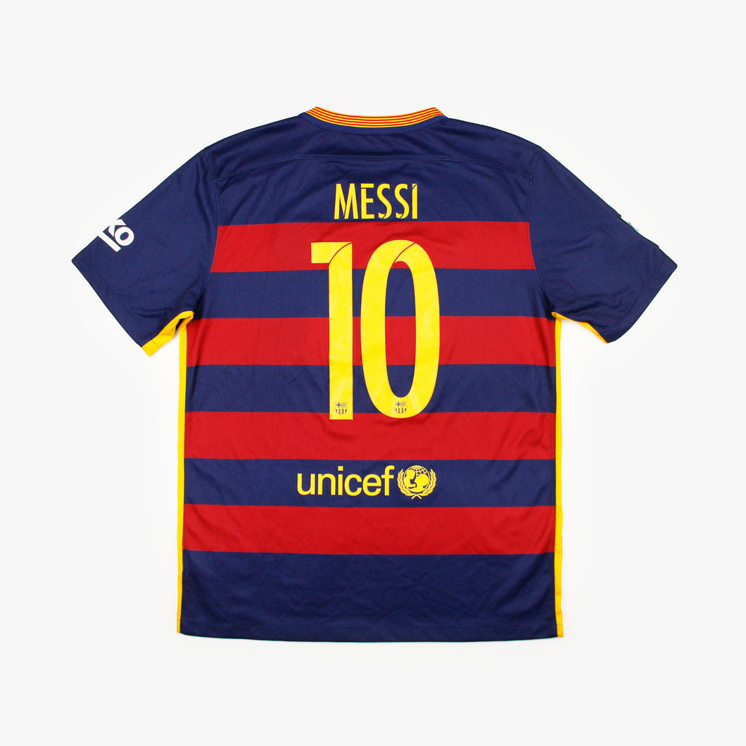 Barcelona 15/16 • Home Shirt • L • Messi #10