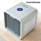 InnovaGoods Freezy Cube Mini Portable Evaporative Air Cooler with LED