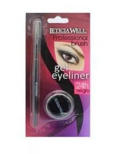 Eyeliner Gel & Leticia Well applikatorborste