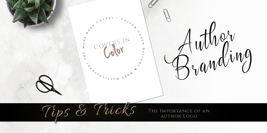 THE IMPORTANCE OF AN AUTHOR LOGO