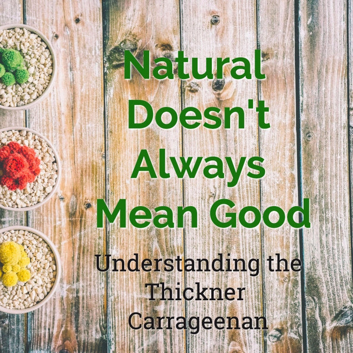 Natural Doesn't Always Mean Good