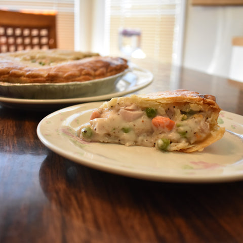 Chicken Mornay Pie - Ma Pies