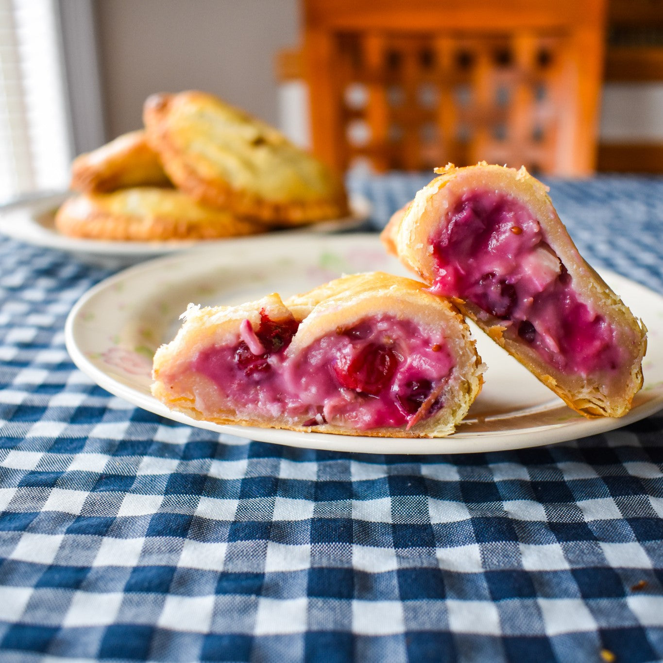 Cranberry Chicken Brie Pocket Pies (6) - Ma Pies