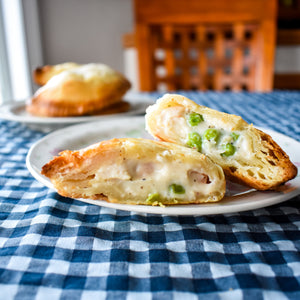 Chicken Mornay Pocket Pies (6) - Ma Pies