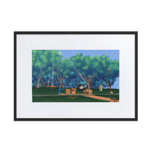 Load image into Gallery viewer, Long Goodbyes -  Framed Poster With Mat