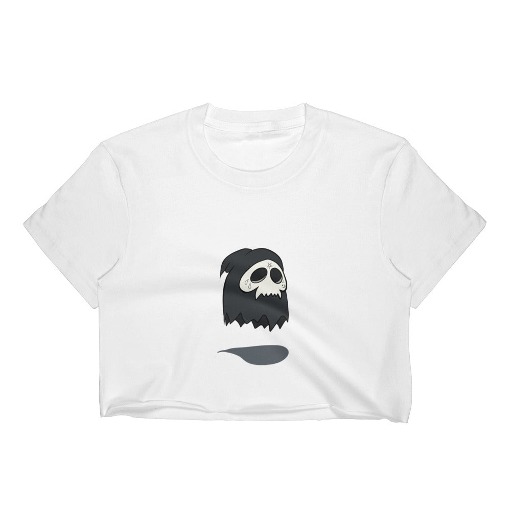 Young Muerte crop top