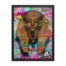 Load image into Gallery viewer, Pharaoh - Framed Print