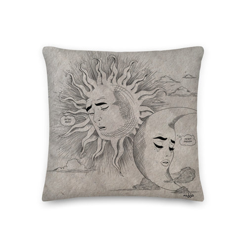 I Love You So Much But... - Premium Pillow