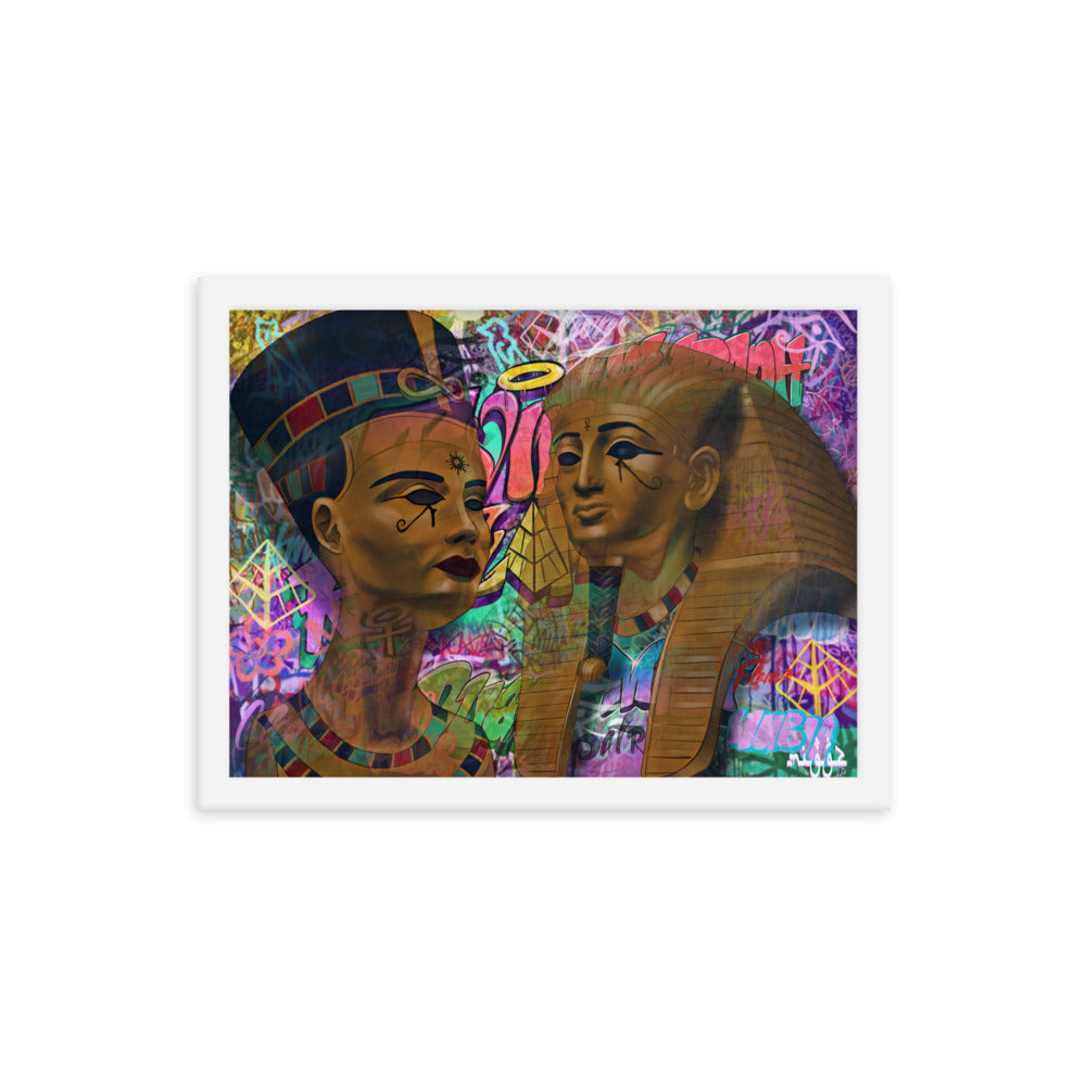 Twin Flame - Framed Print